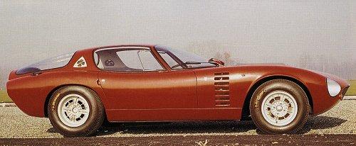 Alfa Romeo Bertone Canguro Carsfromitaly