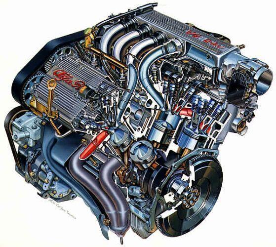 Alfa Romeo V6 engine