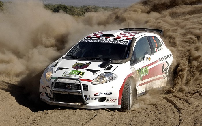 Fiat Grande Punto Abarth S2000 Rally Car Carsfromitaly