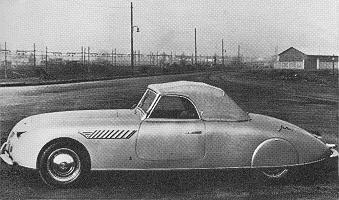 Lancia Aprilia, Cabriolet by Pininfarina (1938)
