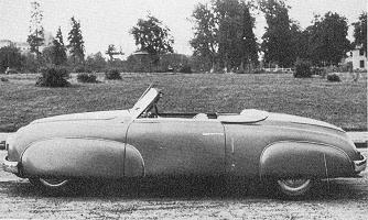 Lancia Aprilia, Cabriolet by Pininfarina (1946)