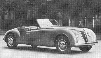 Lancia Aprilia, Cabriolet by Pininfarina (1948)
