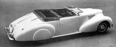 Lancia Aprilia, Cabriolet by Pininfarina
