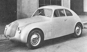 Lancia Aprilia, Aerodynamic Coupé by Boneschi (1937)