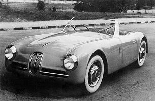 Lancia Aprilia, Spider Gran Sport by Ghia (1948)